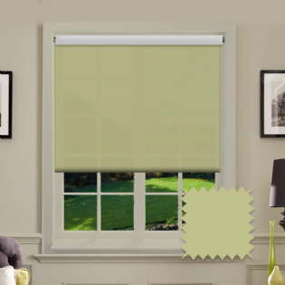 Light Green Roller Blind - Astral Glade